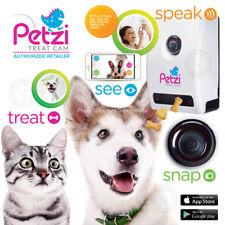 Petzila Petzi Smart Wi-Fi Audio Camera Night Vision Pet Dog Cat Treat Dispenser