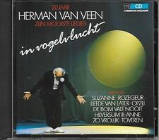 HERMAN VAN VEEN - In vogelvlucht CD Album 20TR Harlekijn 1987 (20 jaar)