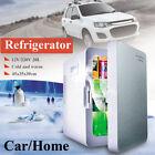 Car Home Dual Mini Fridge Portable Cooler Warmer Travel Refrigerator Freezer 20L