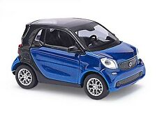 BUSCH 50700 Smart Pour Deux Coupé C453, CMD, Bleu H0 #neuf emballage scellé#