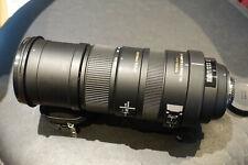 Sigma 150-500mm f/5-6.3 Auto Focus APO DG OS HSM Telephoto Zoom  Lens For Nikon