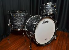 Ludwig drums sets Classic Maple USA Made 3p Vintage Black Oyster 13, 16F, 22 NEW