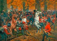 """""""Battle of the Thames"""" Don Troiani War of 1812 Limited Edition Canvas Giclee"""