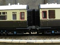 00 Gauge 4mm Hornby Bachmann BR GWR Collett Gangways