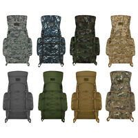 Military Tactical MOLLE Outdoor Bag Weather Resistant Backpack for Hiking