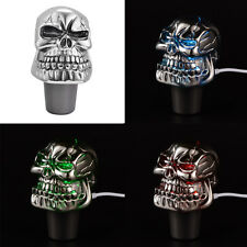 Skull Head Touch Activated LED Light AUTO Car Shift Knob Gear Shifter Handle