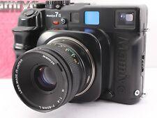 EXC+++++ Mamiya 7 II Medium Format Film Camera Black + N 80mm f4 L From Japan