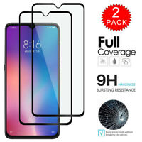 For Xiaomi Mi A3 - Full Coverage Tempered Glass Film Screen Protector [2-Pack]
