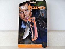 "Gerber Bear Grylls Survival AO Folding Pocket Knife 3"" Blade 31-002530"