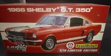 Lane Collectibles 1/18 1966 FORD Shelby Mustang GT-350 RED FASTBACK Diecast