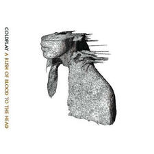 COLDPLAY A RUSH OF BLOOD TO THE HEAD CD ALBUM