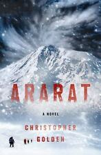 NEW Ararat by Christopher Golden (2017, Hardcover) Book