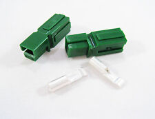ANDERSON POWERPOLE Sermos 30Amp (2 pcs) Electrical Connectors Green Housing