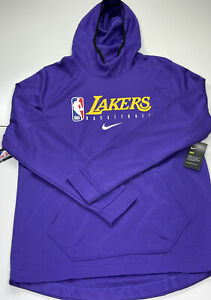 Los Angeles Lakers Nike Team Player Issued Team Exclusive Hoodie Size XLT