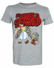ASTERIX T-Shirt Dinner Is Served - Taglia M - OFFICIAL MERCHANDISE
