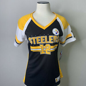 Terry Bradshaw Pittsburgh Steelers NFL Hall Of Fame Jersey - Women's Size Medium