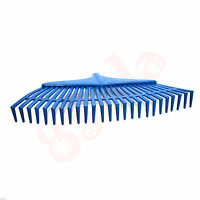 39cm Wide 25 Tooth Heavy Duty Plastic Rake Head Replacement Lawn Leaves Garden