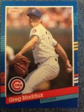 GREG MADDUX~CHICAGO CUBS~SHARP 1991 DONRUSS #374 PACK-FRESH MLB BASEBALL CARD