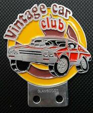 VINTAGE CAR CLUB CAR COLLECTIBLES CLASSIC MUSCLE parts magazine for sale badge