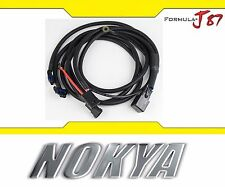Nokya Relay Wire Harness H8 Nok9218 Fog Light Bulb Lamp Replace Repair Bypass OE
