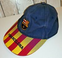 Official FCB FC Barcelona Embroidered 1899 Cap Baseball Hat Striped
