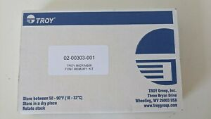 Troy 02-00303-001 MICR Font Kit for M506 M527