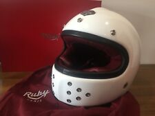 Ruby Castel Motorcycle Helmet Gabriel model