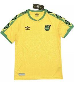 Umbro Men's Jamaica National Team Soccer Jersey Yellow Size S