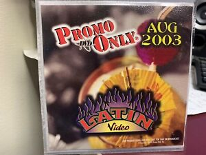 PROMO ONLY LATIN DVD AUGUST 2003 VIDEO SERIES NEW