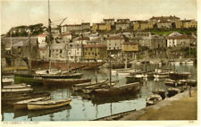 1930s postcard The Harbour MEVAGISSEY Cornwall