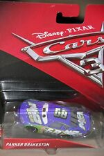 "DISNEY PIXAR CARS 3 ""PARKER BRAKESTON...A.K.A. N2O COLA"" NEW IN PACKAGE, SHIP WW"