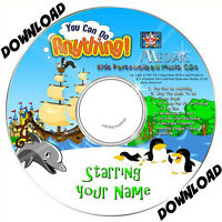 YOU CAN DO ANYTHING  Personalised Music Album DOWNLOAD $24.95