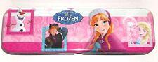 Disney frozen, elsa, anna, en métal pencil case, tin box anna rose