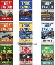 The Collected Short Stories of Louis L'Amour Vol. 1-7 (pb) by  L'Amour 9Bks NEW