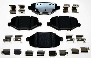 Disc Brake Pad Set-Ceramic Disc Brake Pad Rear ACDelco 17D1719CH