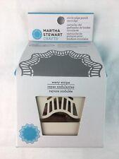 Martha Stewart Crafts Circle Edge Punch Cartridge Wavy Stripe Rare