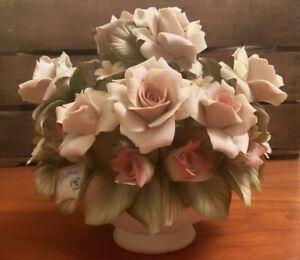 Centrotavola capodimonte - Centrotavola Con Rose