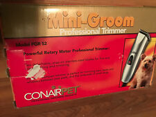 Conair Pet  Mini-Groom Professional Trimmer # PGR 52