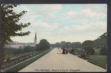 Scotland Postcard - The Terrace, Queen's Park, Glasgow     RS6531