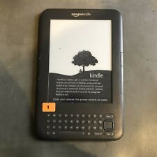Amazon 4GB 3rd Generation Kindle Keyboard - Graphite