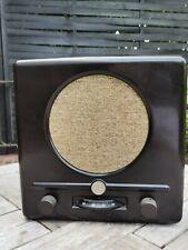 Braun Deutscher Kleinempfänger 1938 Röhrenradio Original *** DEKO ***