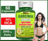 60 Capsules GARCINIA CAMBOGIA 95% HCA Belly Fat Weight Loss Slim Less Appetite
