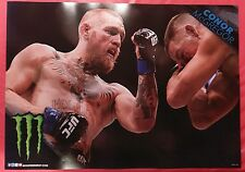 """The Notorious"" Conor Mcgregor UFC - MONSTER Energy Poster ONLY 5 LEFT!!"