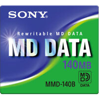 BRAND NEW SONY MMD-140B Rewritable MD DATA 140MB Free Shipping Worldwide F/Ship