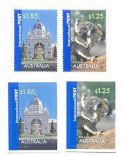 Australia-Greetings 2006 set 4 gum & self-ad(2638/41)
