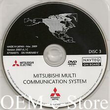 2006 to 2012 Mitsubishi Galant Endeavor Navigation DVD Map West & North Central