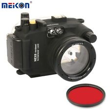 40m/130ft Waterproof Underwater Camera Housing Case for Sony NEX-6 16-50mm Lens
