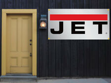 Jet Tools Vinyl Banner 2'x4' 13 OZ. Garage or trade shows Ready Hang Equipment