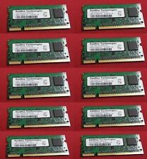Lot of 2 1GB SanMax pc2-3200s-333 RAM Memory