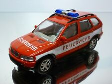 JOY CITY BMW X5 FEUERWEHR - FIRE BRIGADE - RED 1:43 - GOOD CONDITION